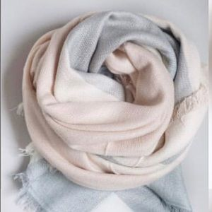 """Brand New Blanket Scarf 55""""x55"""" Soft and Cozy"""